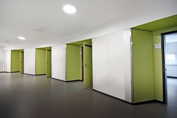 FKD - Couloir ramenant aux chambres